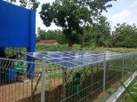 Sistem Pompa Air Tenaga Surya Kebun Jagung
