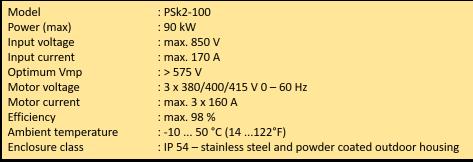 spek psk2-100